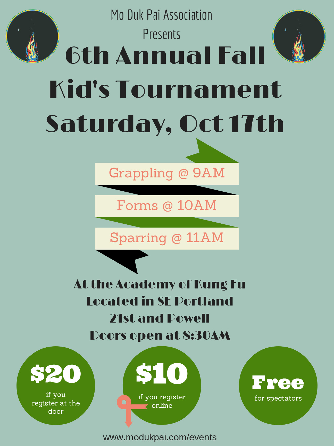6th Annual Fall Kid's Tournament